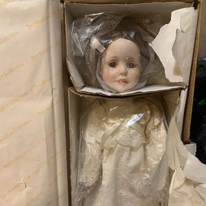 Kathleen porcelain doll by the Hamilton collection
